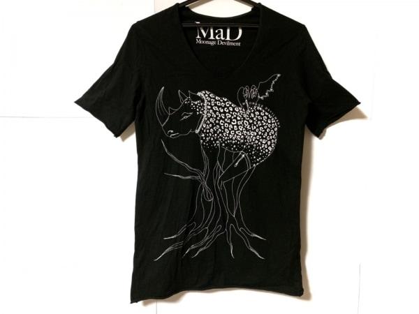 Moonage Devilment(ムーンエイジデビルメント) 半袖Tシャツ サイズS メンズ 黒