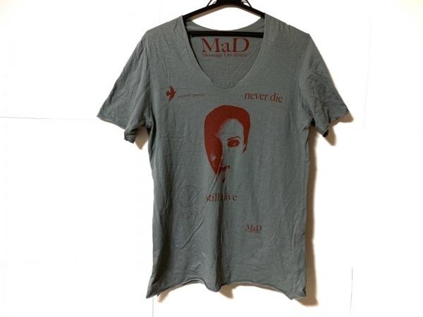Moonage Devilment(ムーンエイジデビルメント) 半袖Tシャツ サイズ44 L メンズ グレー