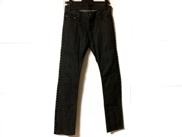 Roen(ロエン) ジーンズ サイズ28 メンズ美品  黒 スカル/スタッズ