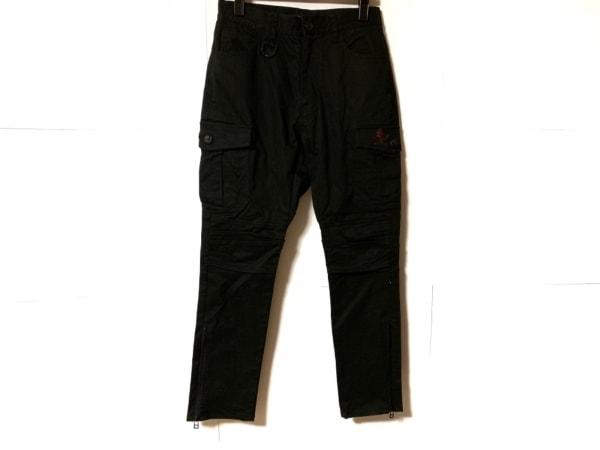 Roen(ロエン) パンツ サイズ28 メンズ 黒 スカル/ラインストーン