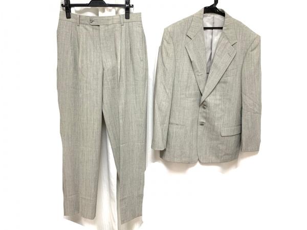 CalvinKlein(カルバンクライン) シングルスーツ サイズM メンズ グレー