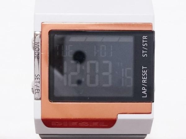 DIESEL(ディーゼル) 腕時計 DZ-7182 メンズ 黒