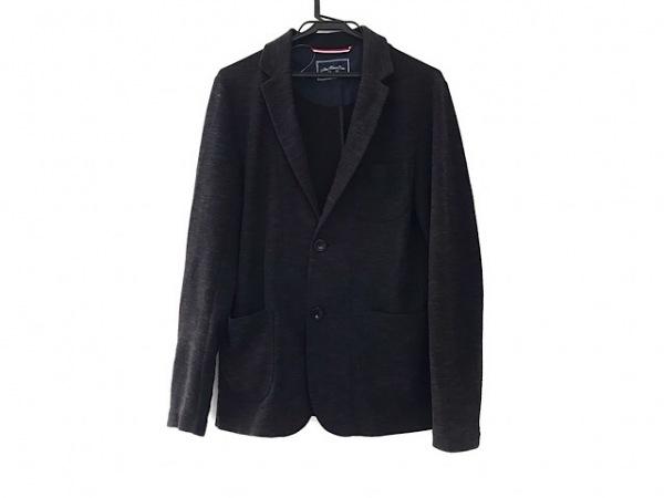 ABAHOUSE(アバハウス) ジャケット サイズXL メンズ美品  黒×グレー