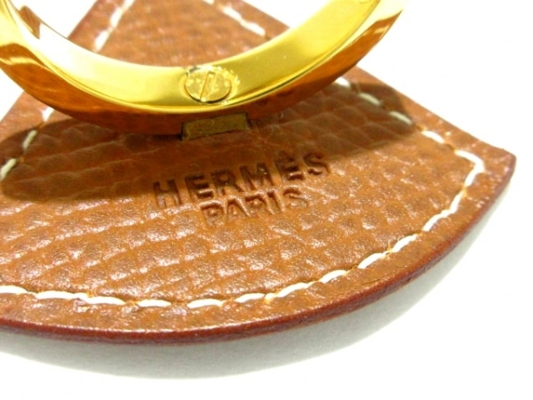 エルメス スカーフリング - ヴォーエプソン×金属素材 ゴールド 3