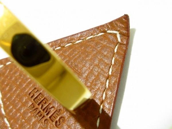 エルメス スカーフリング - ヴォーエプソン×金属素材 ゴールド 4