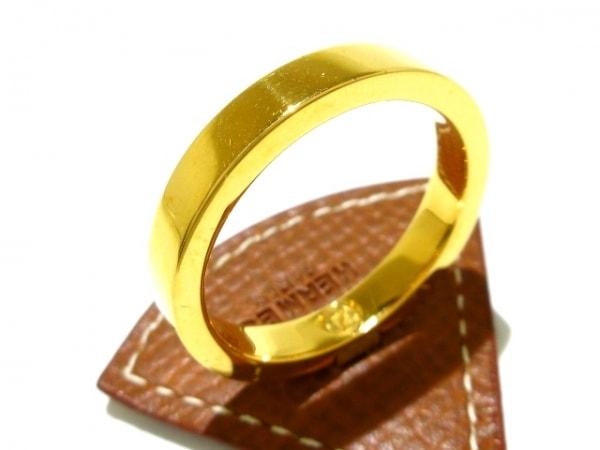 エルメス スカーフリング - ヴォーエプソン×金属素材 ゴールド 5