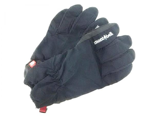 mont-bell(モンベル) 手袋 M メンズ 黒 ナイロン