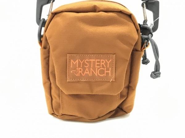 MYSTERY RANCH(ミステリーランチ) ショルダーバッグ ブラウン ミニサイズ ナイロン