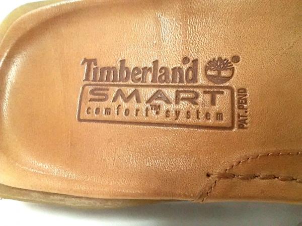 Timberland(ティンバーランド) サンダル 6.5 W レディース ライトブラウン レザー