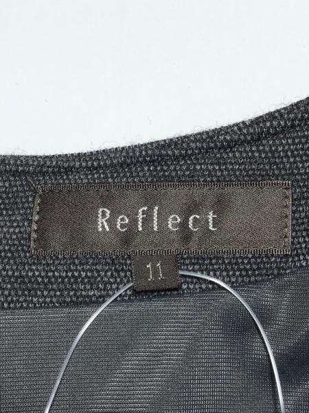 ReFLEcT(リフレクト) ワンピース サイズ11 M レディース新品同様  ダークグレー