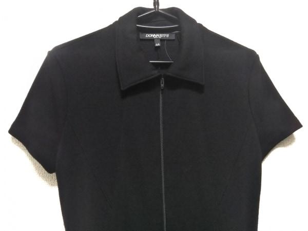 DONNAerre(ドンナエレ) ワンピース サイズ44 L レディース美品  黒
