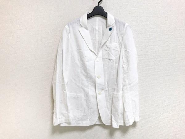 lardini(ラルディーニ) ジャケット サイズ46 XL メンズ 白
