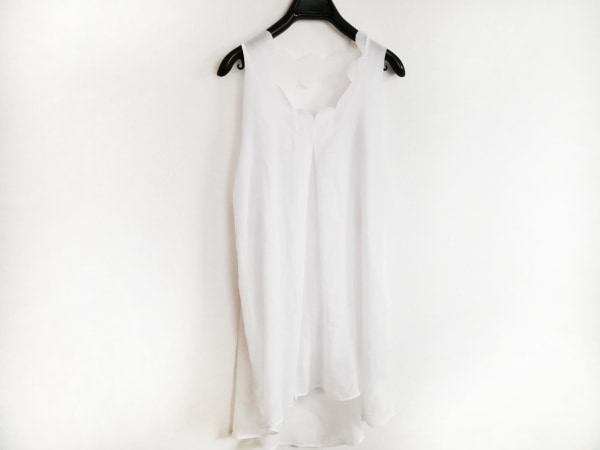 アリス マッコール ワンピース サイズ8 M レディース美品  白 シースルー