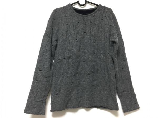 lucien pellat-finet(ルシアンペラフィネ) 長袖セーター サイズM レディース グレー