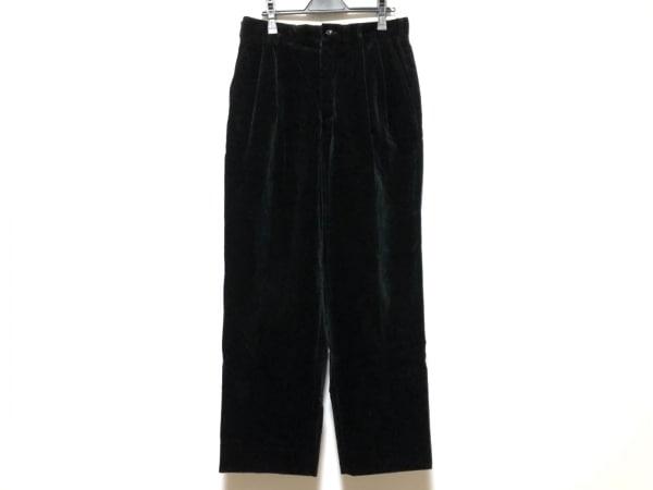 COMMEdesGARCONS(コムデギャルソン) パンツ サイズM レディース美品  黒 ベロア