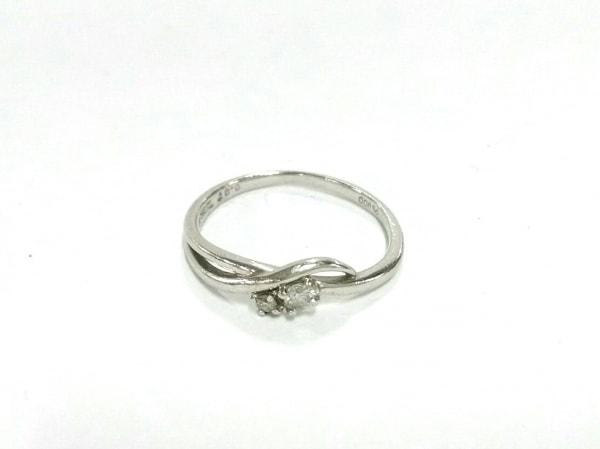 TAKE-UP(テイクアップ) リング Pt900×ダイヤモンド 2Pダイヤ/0.07カラット