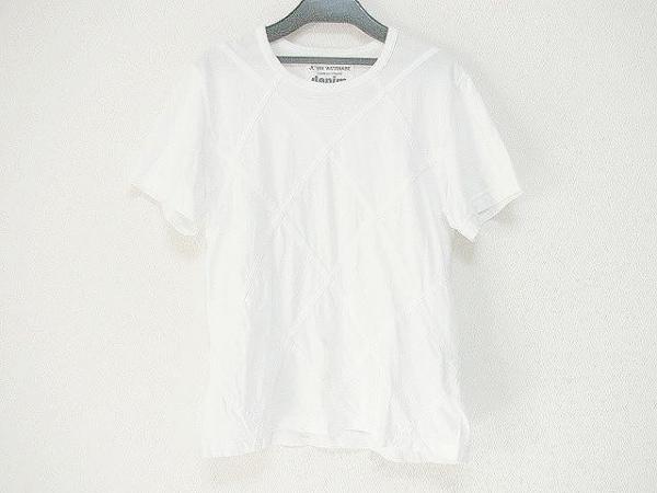 コムデギャルソンジュンヤワタナベ 半袖Tシャツ サイズM レディース 白 denim