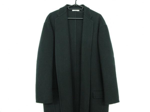 CELINE(セリーヌ) コート サイズ38 M レディース美品  - - ダークグリーン