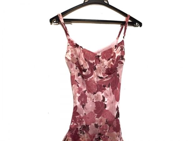 ビーシービージーマックスアズリア ドレス サイズ2 S レディース美品  シルク/花柄