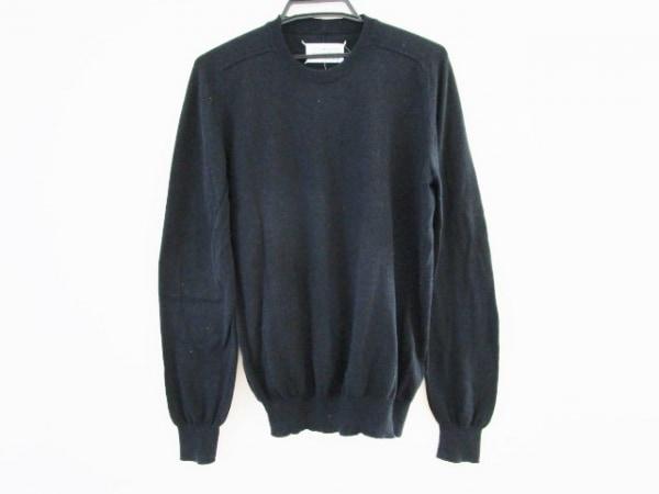 MARTIN MARGIELA(マルタンマルジェラ) 長袖セーター サイズS メンズ 黒