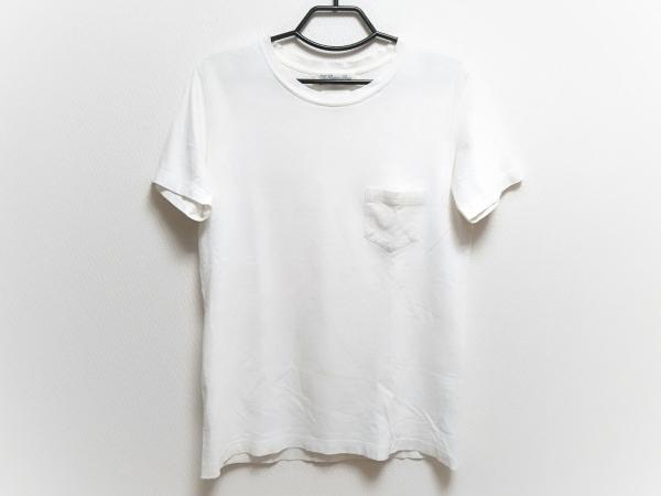 レミ レリーフ 半袖Tシャツ サイズM メンズ 白 The Golden State/ダメージ加工