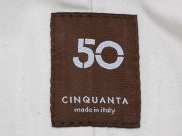 Cinquanta(チンクアンタ) ブルゾン サイズ38 M レディース ダークブラウン