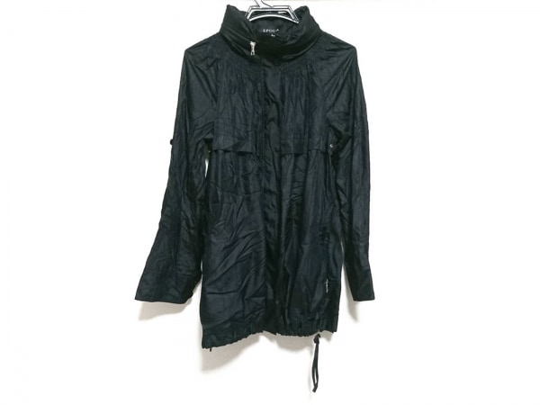 EPOCA(エポカ) コート サイズ40 M レディース美品  黒 春・秋物