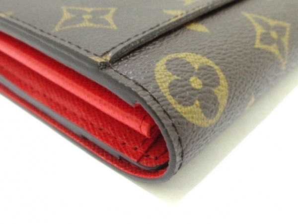 LOUIS VUITTON(ルイヴィトン) 長財布 モノグラム美品  ポルトフォイユ・サラ M62086