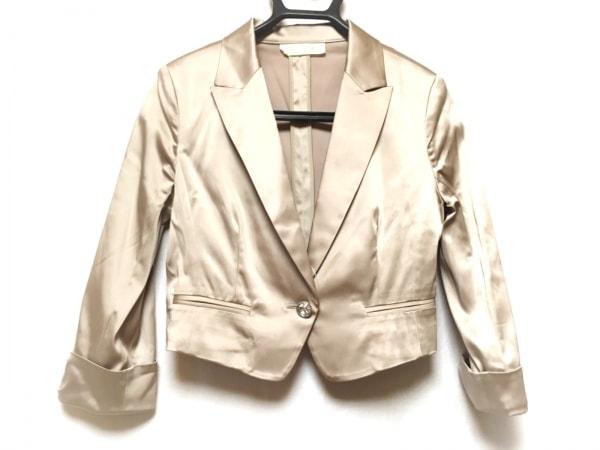 aimer(エメ) ジャケット サイズ38 M レディース ベージュ ラインストーン