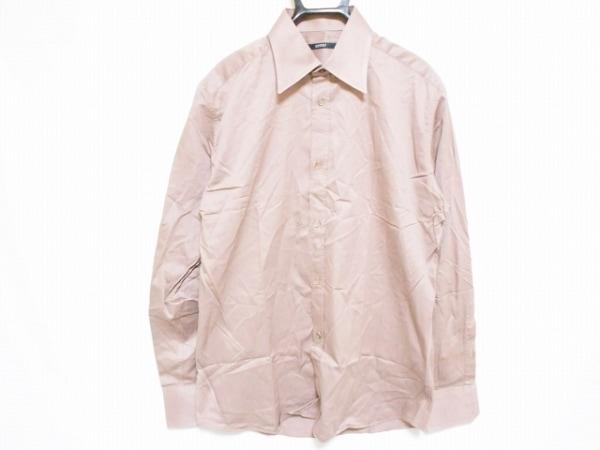 GUCCI(グッチ) 長袖シャツ サイズ40 15 3/4 メンズ ブラウン
