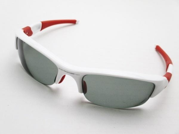 OAKLEY(オークリー) サングラス - 黒×白×レッド プラスチック
