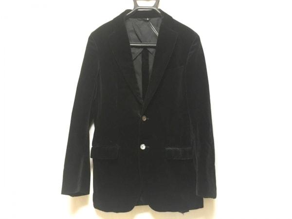 SHIPS(シップス) ジャケット サイズ46 XL メンズ 黒 肩パッド