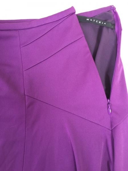 MATERIA(マテリア) スカート サイズ36 S レディース パープル 6