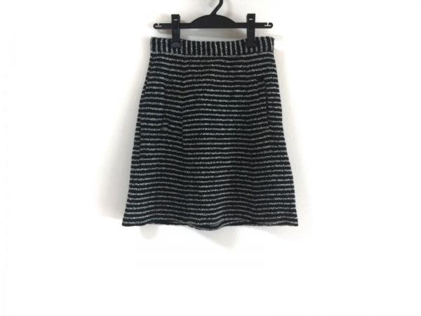 theory(セオリー) スカート サイズP M レディース美品  黒×白