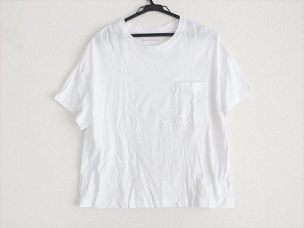 upper hights(アッパーハイツ) 半袖Tシャツ サイズ0S S レディース美品  白
