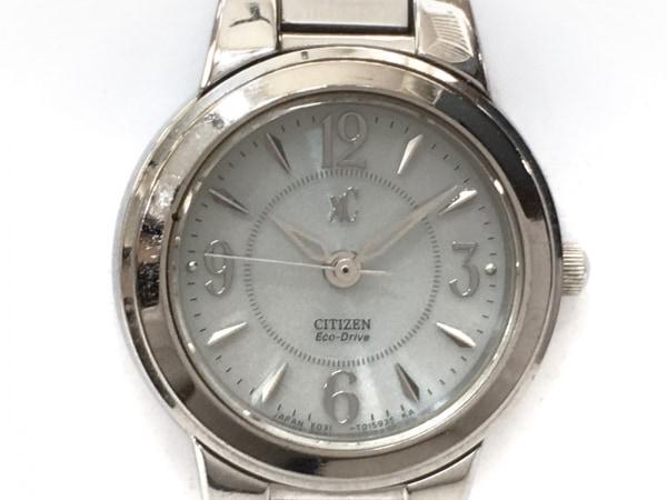 CITIZEN(シチズン) 腕時計 XC E031-T009930 レディース エコドライブ 白×シルバー