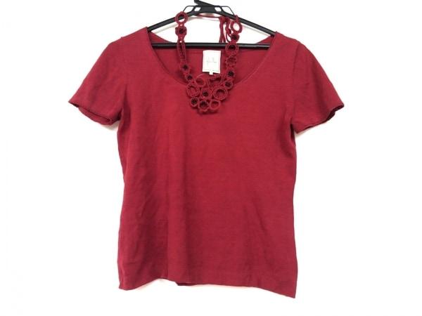Sybilla(シビラ) 半袖セーター サイズM レディース レッド