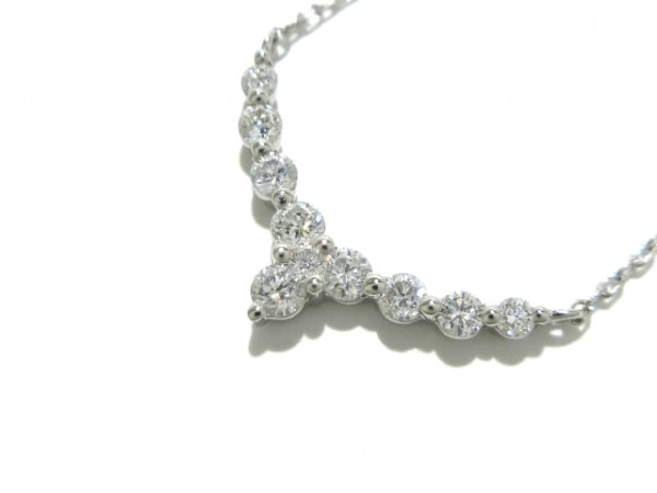 VENDOME(ヴァンドーム青山) ネックレス新品同様  Pt950×Pt850×ダイヤモンド