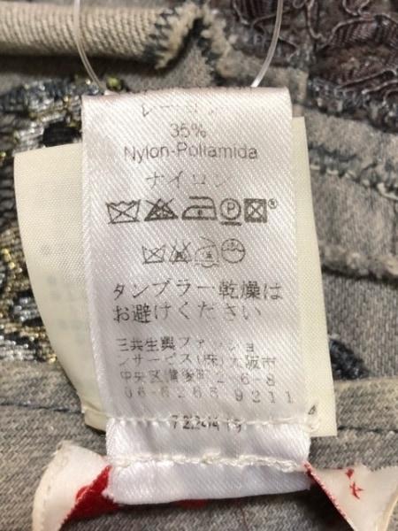 クリスチャンラクロワ スカート サイズ36 S レディース グレー×マルチ