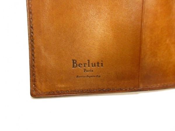 berluti(ベルルッティ) 手帳 カリグラフィ ブラウン レザー