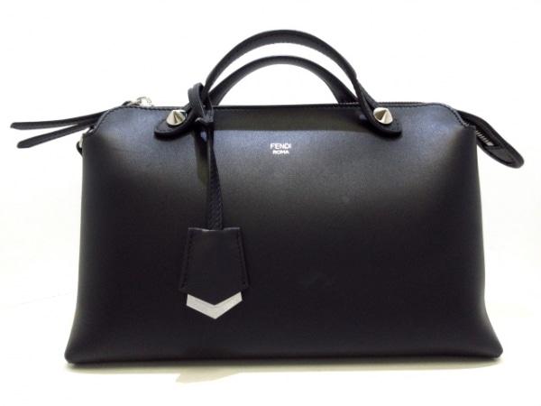 FENDI(フェンディ) ハンドバッグ美品  バイザウェイ 8BL124 黒 レザー