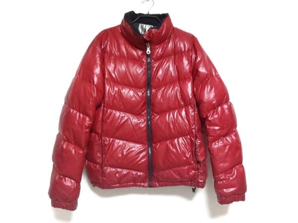 ティーケータケオキクチ ダウンジャケット サイズ3 L メンズ レッド 冬物