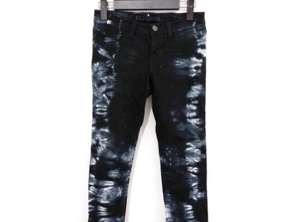 J Brand(ジェイブランド) パンツ サイズ23 レディース 黒×ネイビー×ライトグレー