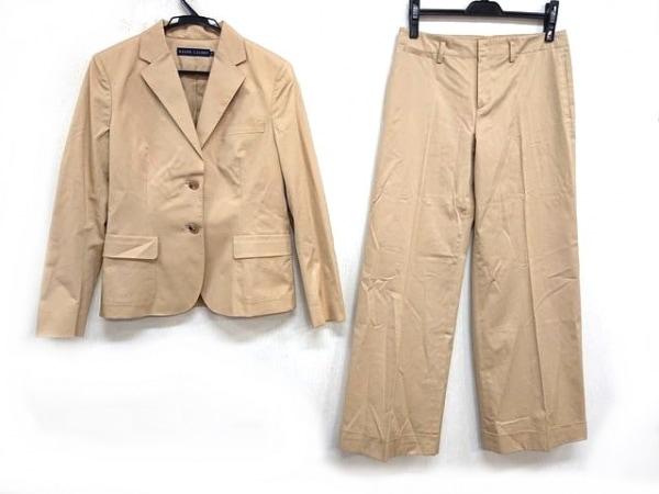 ラルフローレン レディースパンツスーツ サイズ13 L レディース ベージュ
