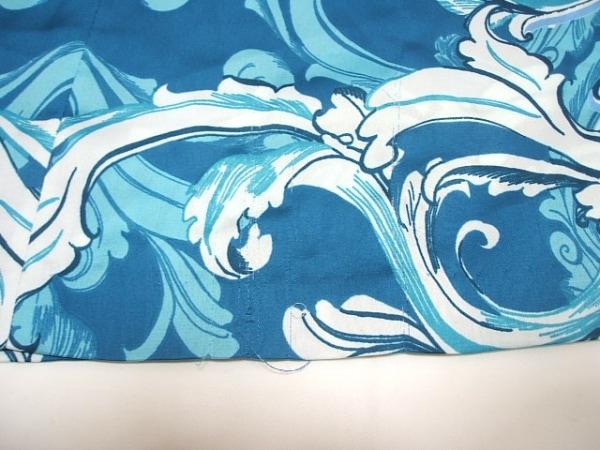 オースチンリード ワンピース サイズ40 L レディース ブルー×ライトブルー×白