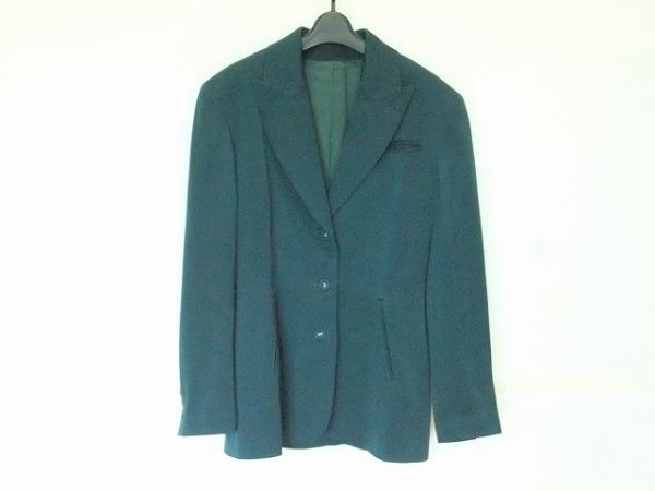 ゴルチエ ジャケット サイズ40 M レディース美品  グリーン 肩パッド