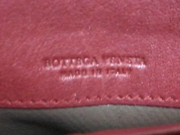 ボッテガヴェネタ 長財布 - B01236608X レッド×ゴールド レザー 5