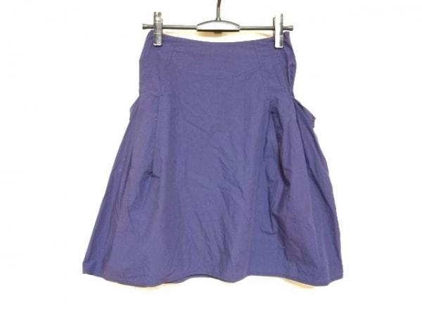 マウリツィオペコラーロ スカート サイズ36 S レディース パープル