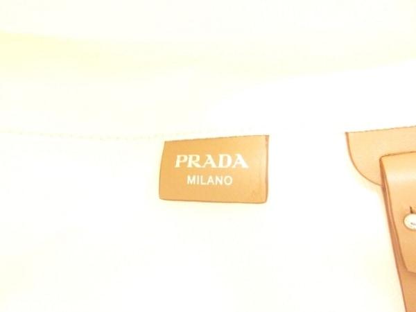 PRADA(プラダ) トートバッグ美品  CANAPA 1BG163 白 キャンバス