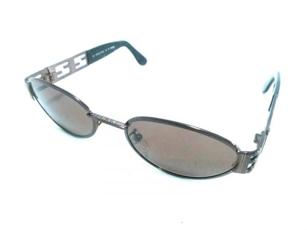 FENDI(フェンディ) サングラス美品  FS176 ダークブラウン 金属素材×プラスチック